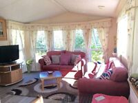 DOUBLE GLAZED & CENTRAL HEATED CARAVAN FOR SALE IN TOWYN, NORTH WALES