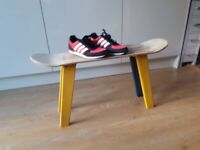 Upcycled skateboard table