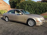 JAGUAR 3.0 S TYPE V6 AUTOMATIC BIEGE LEATHER PX WELCOME