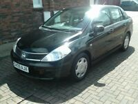 2009 09 NISSAN TIIDA 1.6 AUTOMATIC ** ONLY 37600 MILES ** FULL SERVICE HISTORY ** 12 MONTH MOT **