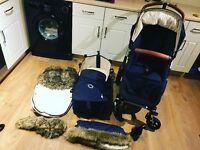 Bugaboo cam 3 with accessories