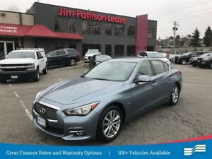 2014 Infiniti Q50 Premium AWD, leather, NAV, roof