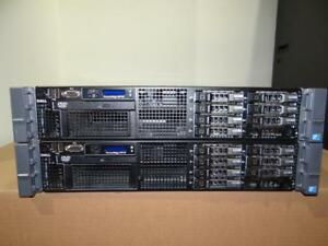"Dell PowerEdge R710 Server - 2x Xeon Hex Core 2.66GHz (X5650) -72GB RAM  8X147GB-SAS 15K 2.5"" Hard Drives- PERC 6i RAID"