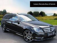 Mercedes-Benz C Class C220 CDI BLUEEFFICIENCY AMG SPORT PLUS (black) 2013-09-30