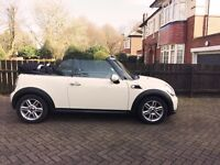 Mini Cooper Convertible Full Service History 1Lady Owner low mileage MOT due 9/6/17
