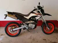 Honda FMX 650 Supermoto ( not drz bandit gsxr r6 duke a2 license )