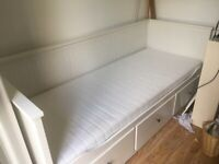 Ikea Hemnes Day Bed with two mattresses