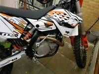 KTM 250 EXC WITH 530R ENGINE SUPERMOTO MX ENDURO R1 GSXR BIKE OFF ROAD