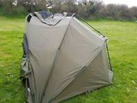 Two man bivvy With ground sheet and winter rap
