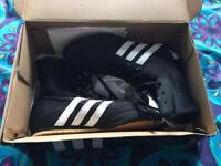 """Adidas """"Box Hog 2"""" boxing boots, women's UK size 4 black"""