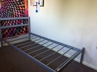 Silentnight Single Mattress & Bed Frame