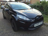 2009 Ford Fiesta 1.2 Style, Black, Manual ,Excellent Condition