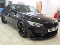 !!CARBON PACK!! 2015 BMW M3 DCT / JEREZ BLACK / FULL BMW HISTORY / 5 YEAR SERVICE PACK / WARRANTY