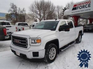 2015 GMC Sierra 1500 SLE Crew Cab 4X4 w/Backup Camera, 5.3L