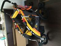 ViaVelo bike trailer/ jogging stroller