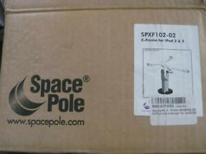 SpacePole POS X-Frame Dura Tilt Tablet Mount Portrait and Landscape. Business / Store Display. For Apple Ipad 2 / 3 / 4