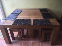 African inspired table mats x 6 unused