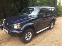 Mitsubishi shogun v6 auto off road etc