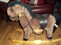 lovely solid rocking horse