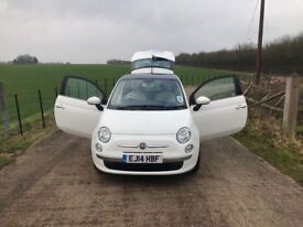 Fiat 500 1.2 Lounge 3dr **1 LADY OWNER**LOW MILEAGE**
