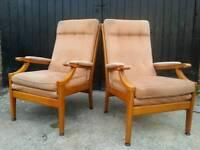 FREE pair fireside highback chairs