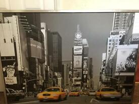 IKEA Vishalt New York Times Square Mounted Picture