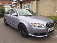Audi A4 facelift 84k miles, Diesel in Excellent condition Long MOT n Tax 3 key and all docs present