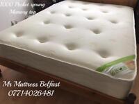 ✅ Half price ~ Platinum 1000 pocket sprung & Deep orthopaedic memory top mattresses ~ 5 star reviews