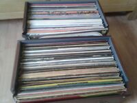 Classic 60's 70's and 80's vinyl LP albums over 100