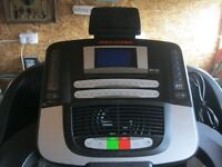 QUALITY TREADMILL 'PRO-FORM PERFORMANCE 1500' EXCELLENT CONDITION/LIKE NEW.VIEW/DELIVERY AVAILABLE