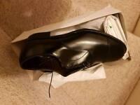 Black Saxone shoes size 7