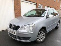 2008 08 Volkswagen Polo 1.4 TDI 80k++FULL LTHR+SENSORS £30Tax not Ibiza fiesta Corsa a1 golf