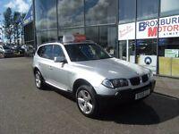 2005 55 BMW X3 2.0 D SPORT 5d 148 BHP MOT JUNE 2017 **** GUARANTEED FINANCE ****