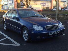 2004 MERCEDES C220 CDI AUTO * 4 DOOR * PX WELCOME * DELIVERY * GOOD RUNNER *