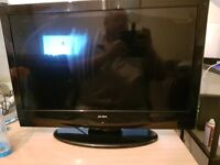 26inch HDMI TV WITH DVD DRIVE FREEVIEW, GOOD WORKING CONDITION