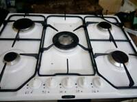 New 5 ring gas hob