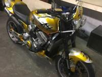 Honda hornet 900 custom street fighter