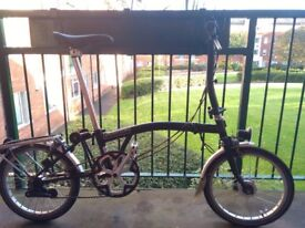 Freshly serviced Brompton SR3 with loads of goodies