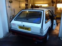 This really is quirt rare its a 86 xr2 with a 1.8 rs turbo under bonnet
