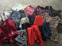 Bundle of girls clothes in 9-12months