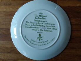 Wedgewood Street Sellers of London series plates