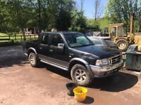 Ford ranger crew cab spares repairs export