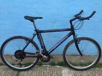 Mens Mountain bike minerva aggressor carbon fibre effect !!!