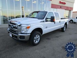 2015 Ford F-350SD XLT Crew Cab 4X4 Diesel Long Box 8', 30,529 Km