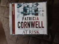 """Audio Book - """"At Risk"""" - Patricia Cornwell - on 4 CD's"""