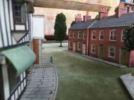 Model railway set - trains, rolling stock, track etc.