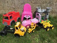 Bundle of garden outdoor toys