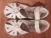 Brand new white sandals M&S sz11