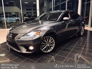 2014 Lexus IS 250 * GROUPE LUXE * GPS + CAMERA + TOIT *