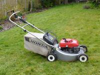 "Honda HR 2160 self-propelled petrol lawnmower - 21"" cutting width"